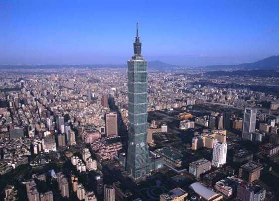 Taipei 101 Gedung Yang Tinggi Di Dunia