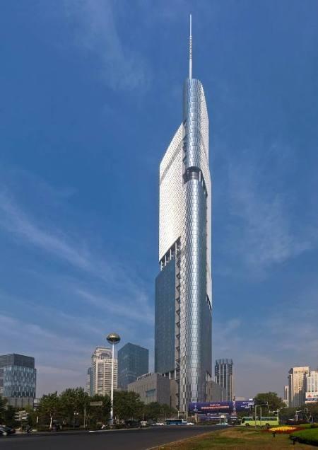 Zifeng Tower Gedung Yang Tinggi Di Dunia